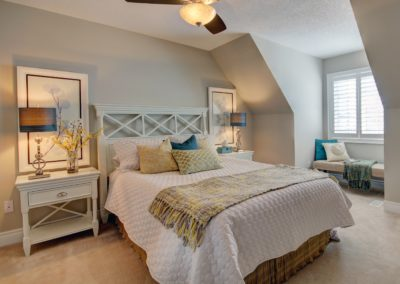 Guest Bedroom - Uxbridge, Port Perry, Whitby, Oshawa, Bowmanville - Home Staging