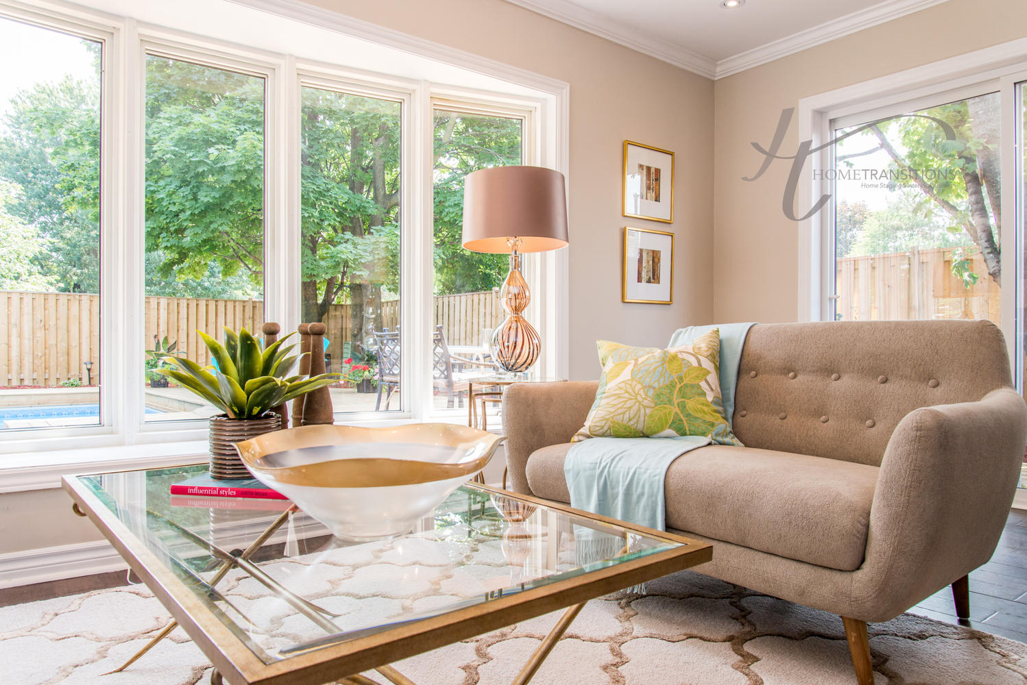 Living Room - Oshawa Home Staging