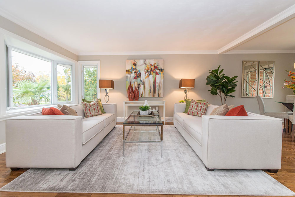 Living Room - Home Staging - Pickering