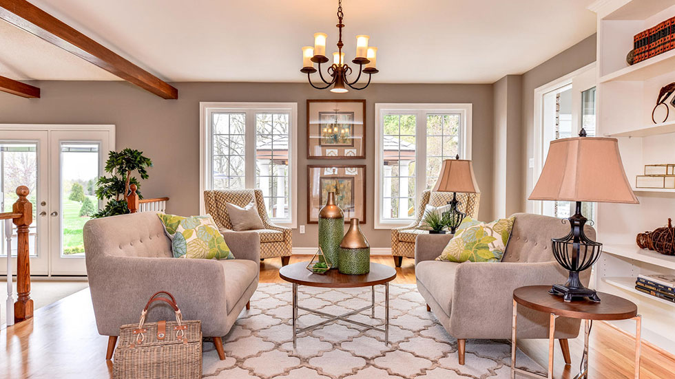 Living Room - Home Staging - Durham Region