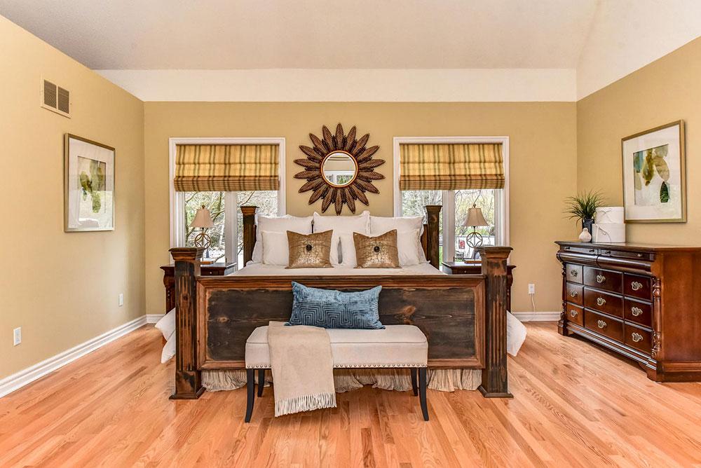 Luxury Master Bedroom - Home Staging - Ajax
