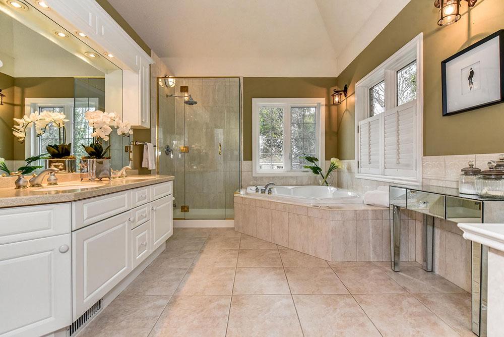 Luxury Master Ensuite - Home Staging - Durham Region