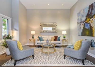 Stunning Living Room - Home Staging - Oversized Canvas - Ajax