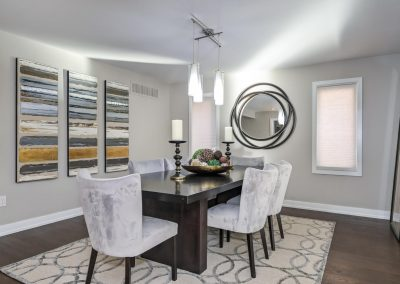 Stunning - Dining Room - Home Staging - Ajax Pickering Whitby