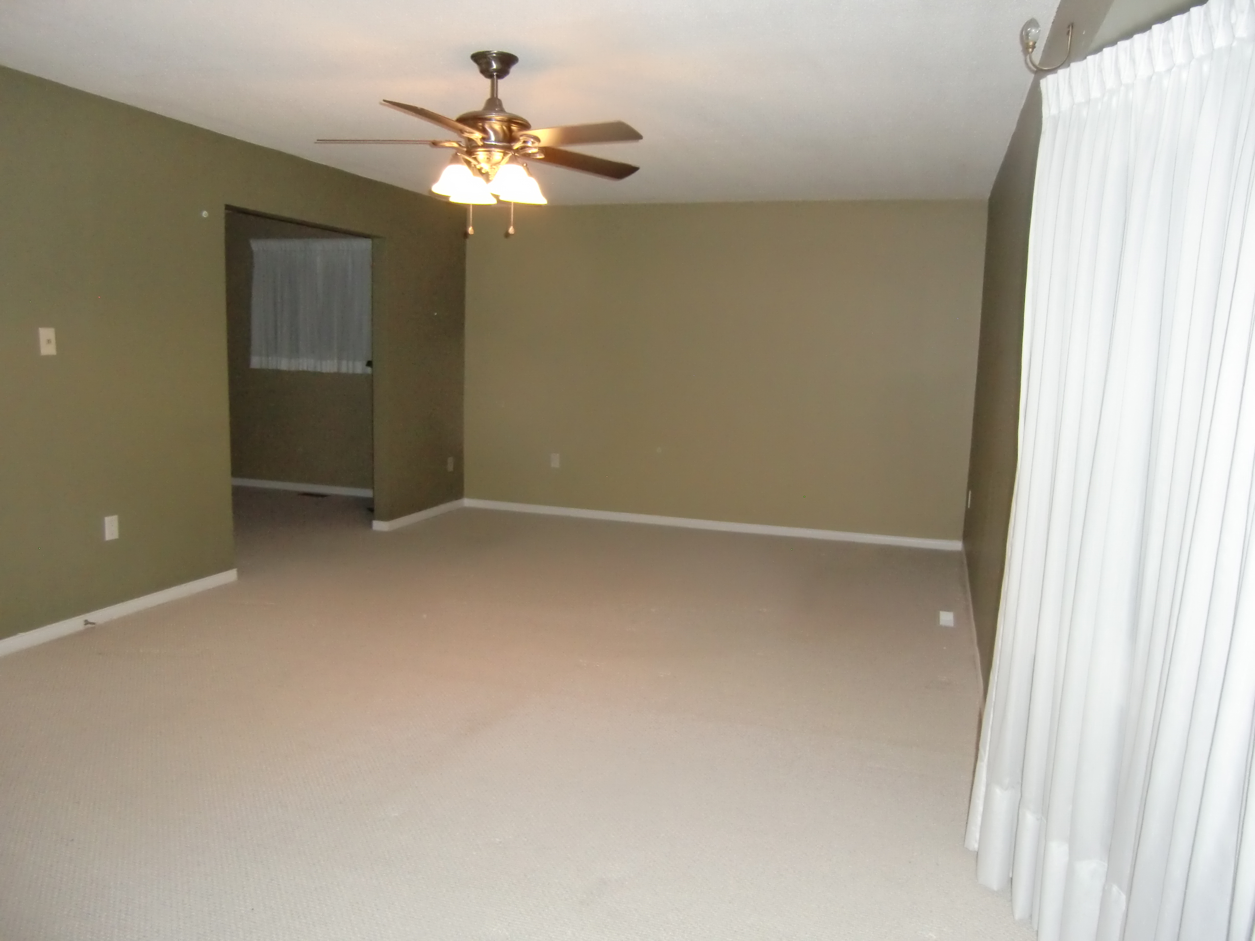 Master Bedroom and Sitting Before Staging - Whitby