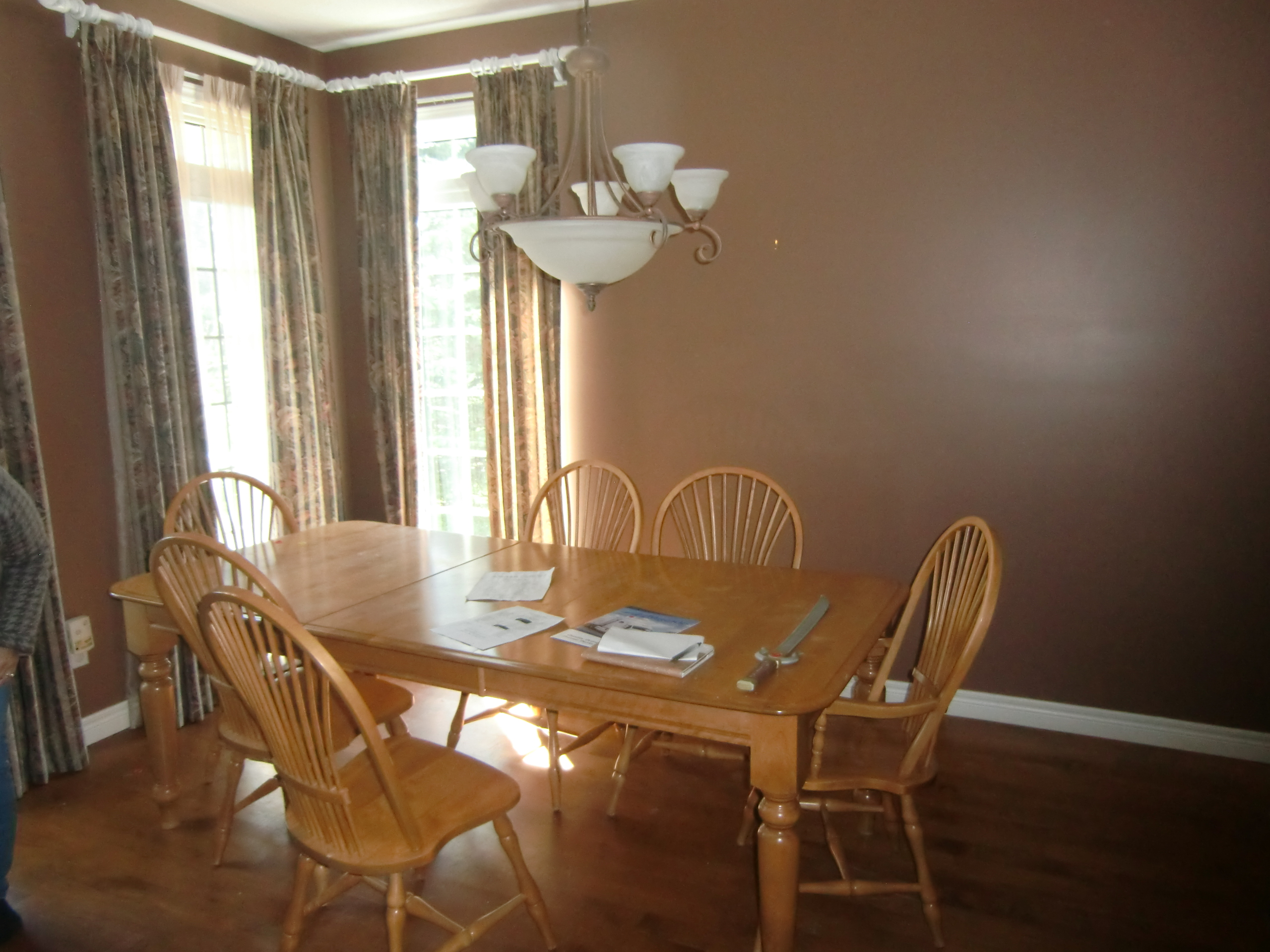 Luxury Dining Room Before Staging - Port Perry - Durham Region