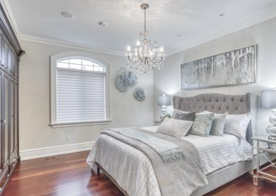 Spare bedroom staged whitby