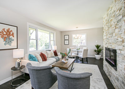 Living Room - Port Perry - Home Staging