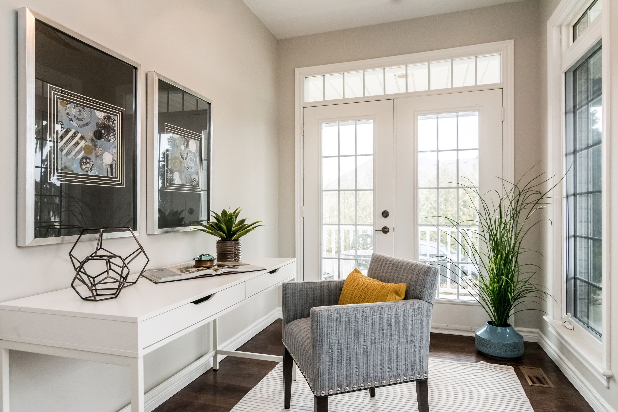 Home Office - Home Staging - Port Perry