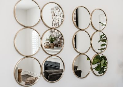 Mirror Reflection - Home Staging - Bowmanville